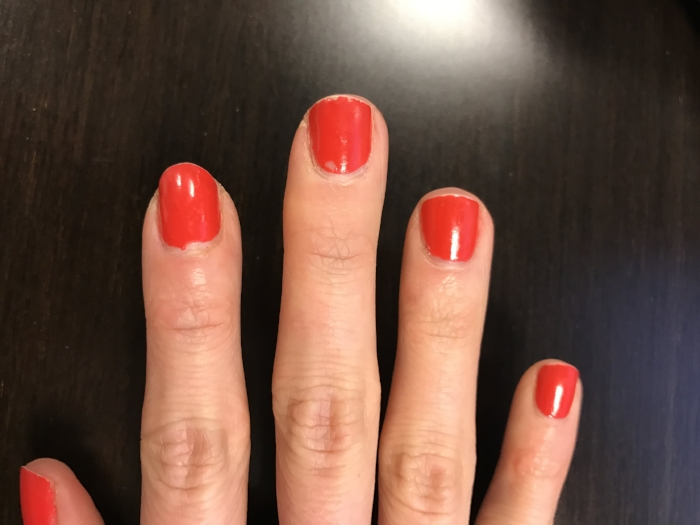 That's pretty darn good for what my nails can look like after 4-5 days much less 7 days!