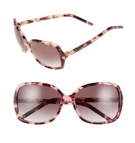 Marc Jacobs 59mm oversized sunglasses pink havana.JPG