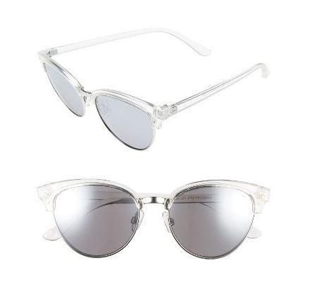BP clear cat eye sunglasses.JPG