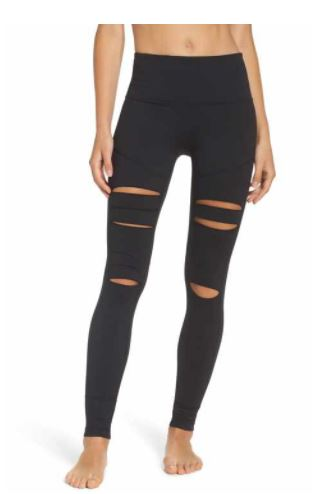 Zella Cece Open Knee Legging