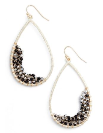 Panacea crystal embellish teardrop earrings.JPG
