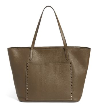 Rebecca Minkoff unlined leather tote.JPG