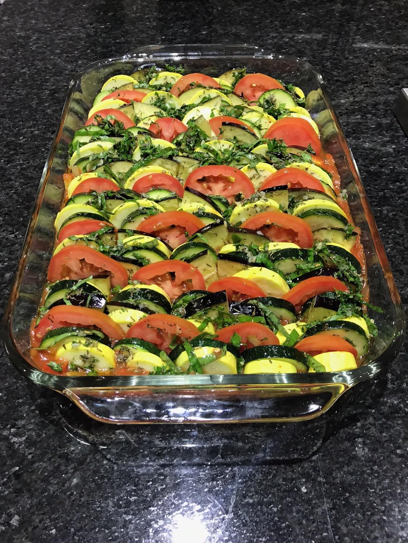Provencal Tian Vegetable Bake - Paleo & Whole 30