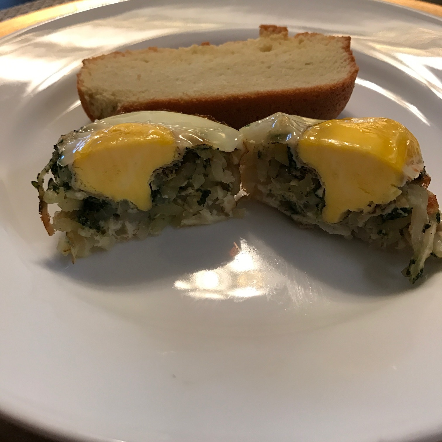 Spiralized Potato and Egg Breakfast Muffins - Paleo & Whole 30