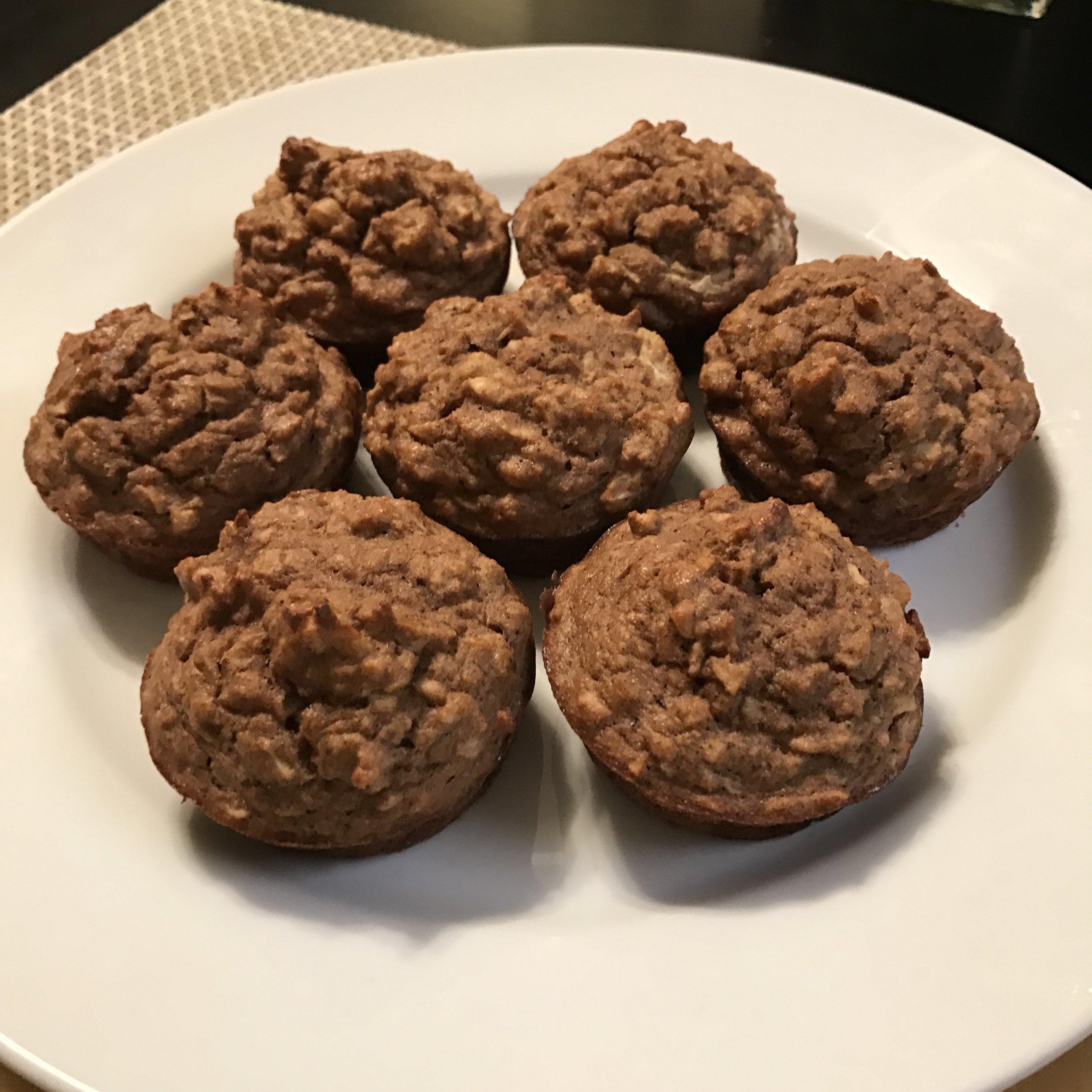 Apple Cinnamon Muffins - Paleo & Whole 30