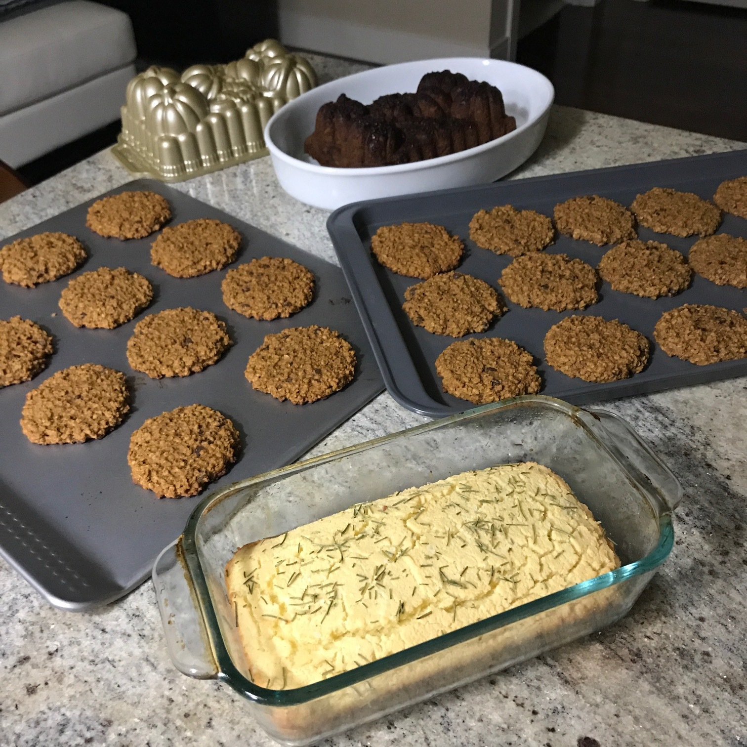 I did a little baking that day, to say the least.