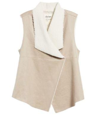 Dylan Faux Shearling Backed Knit Vest.JPG