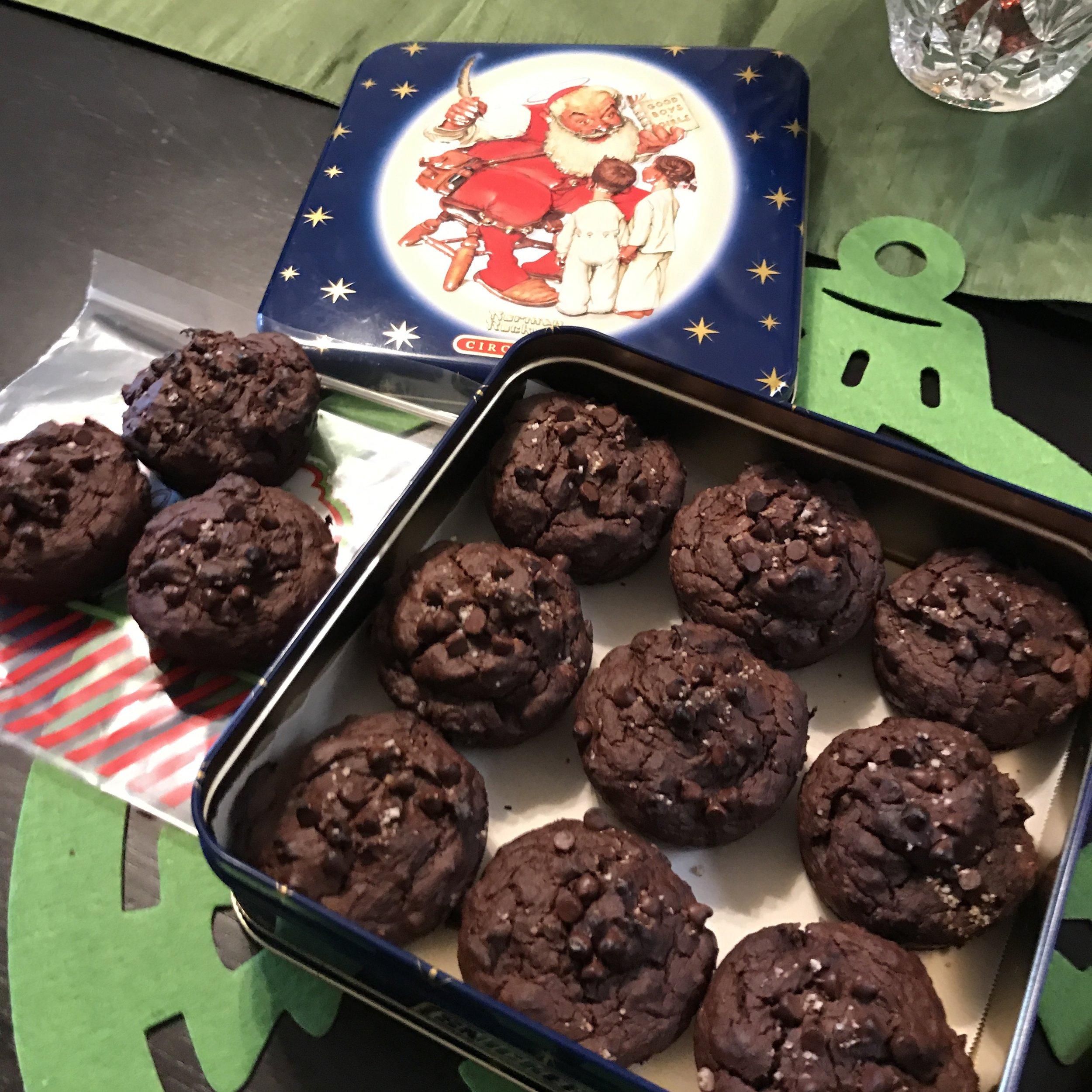 Chocolate Chip Pumpkin Muffins - Paleo