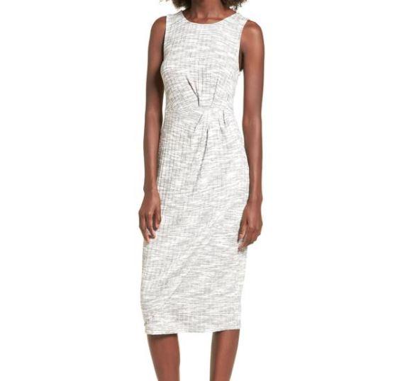 BP Gathered Waist Midi Dress.JPG