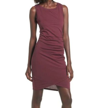 Leith Ruched Body-Con Tank Dress.JPG