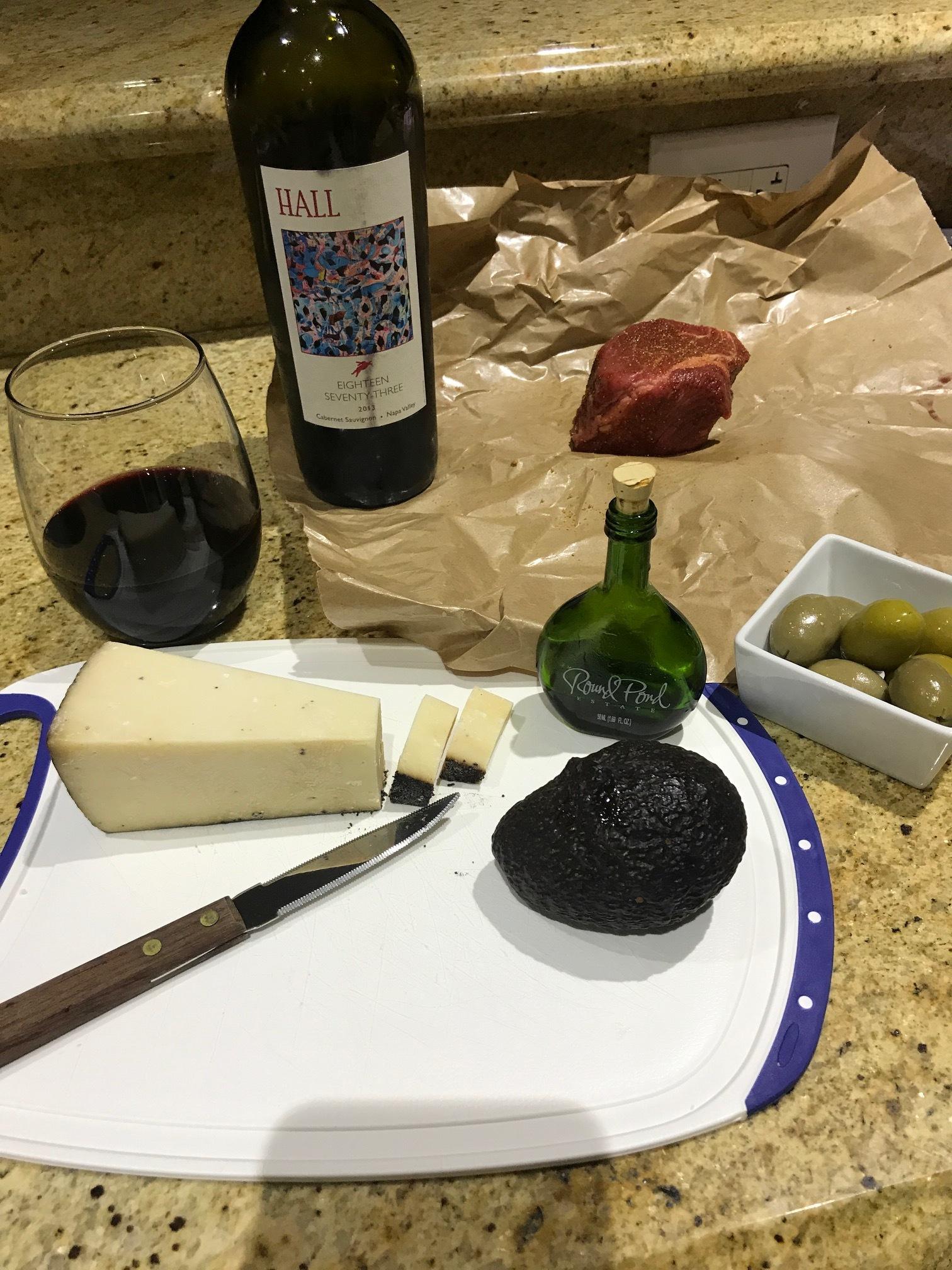 Dinner prepping
