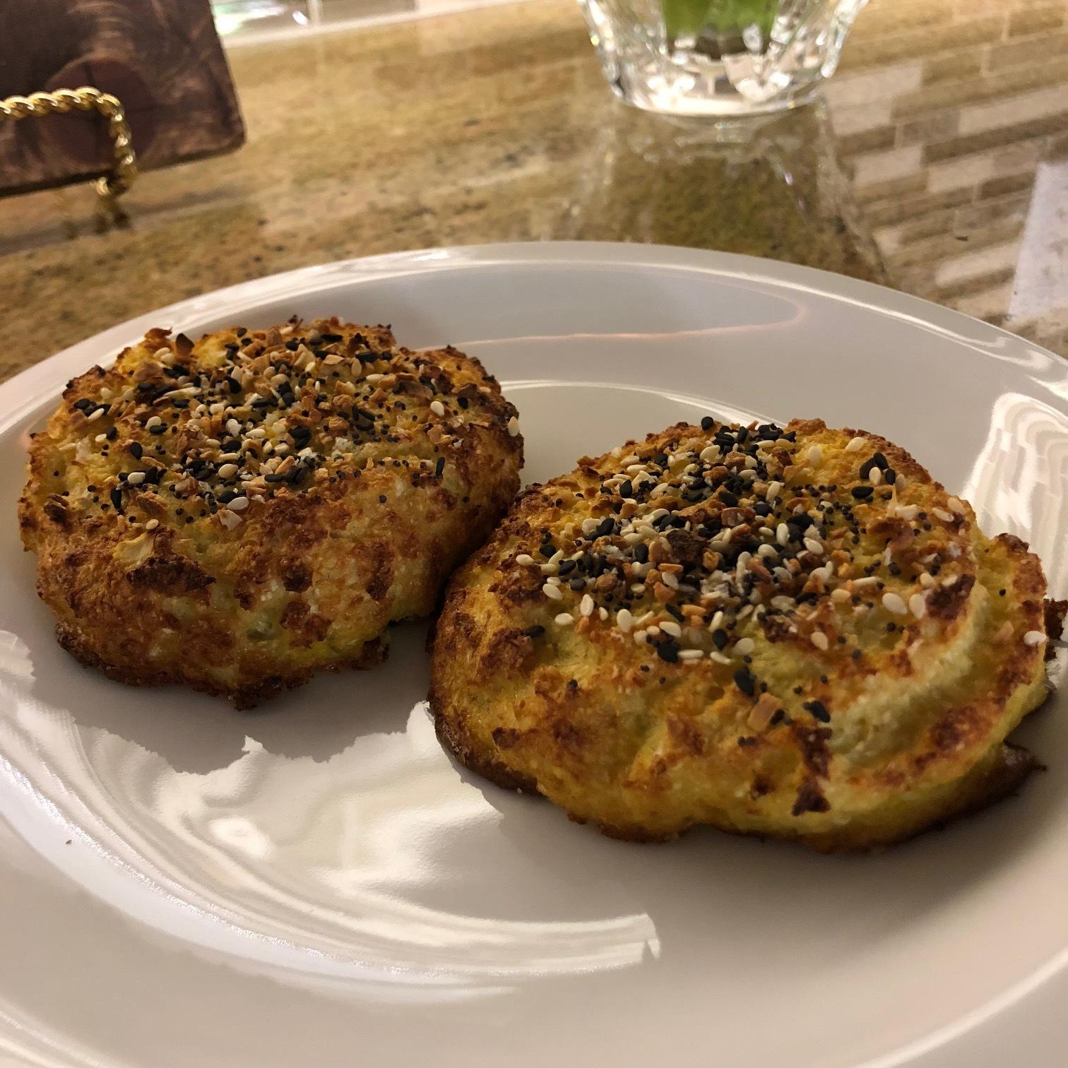 Everything Bagel Cauliflower Roll - Paleo & Whole 30