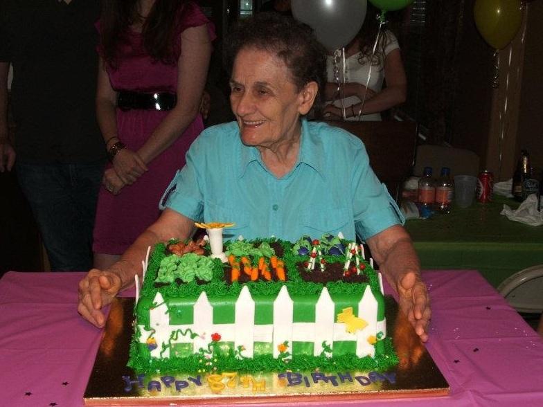 Mammaw on her 87th birthday!