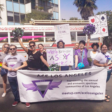 Ace Los Angeles made our second appearance in the Long Beach pride parade, and we got an even bigger response than the first year!