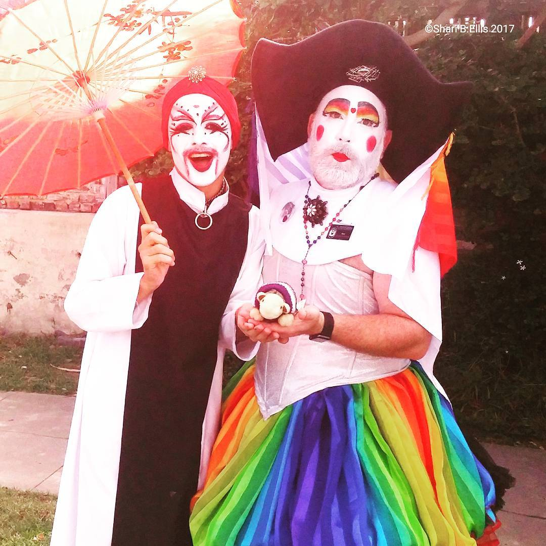 We even got our wish and got to march along with our friends of the Sisters of Perpetual Indulgence - even Ace Spectrum got to pose for a photo! So much love and support from the LB community. Many thanks, Long Beach!