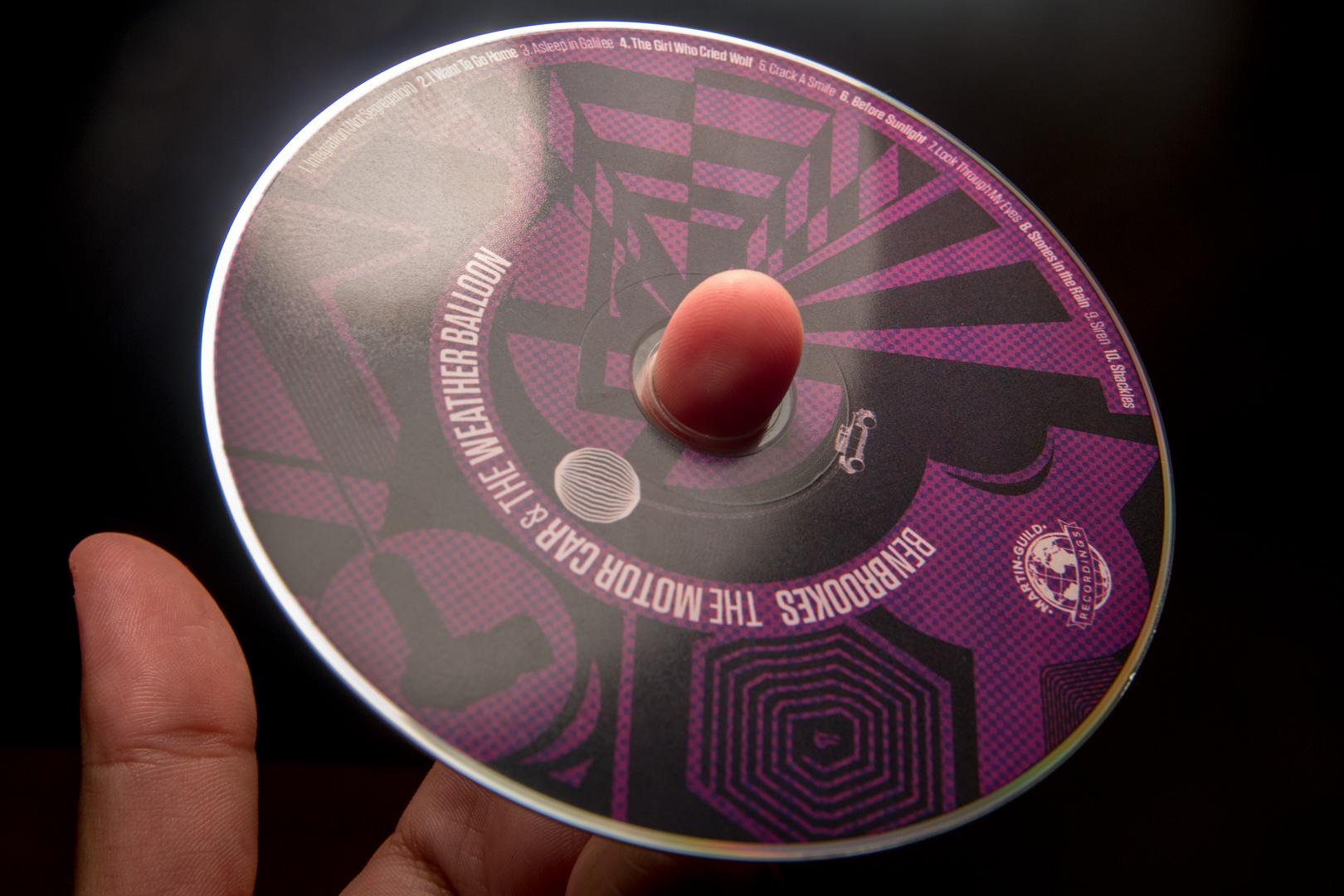 Ben Brookes The Motor Car & The Weather Balloon CD -4.jpg