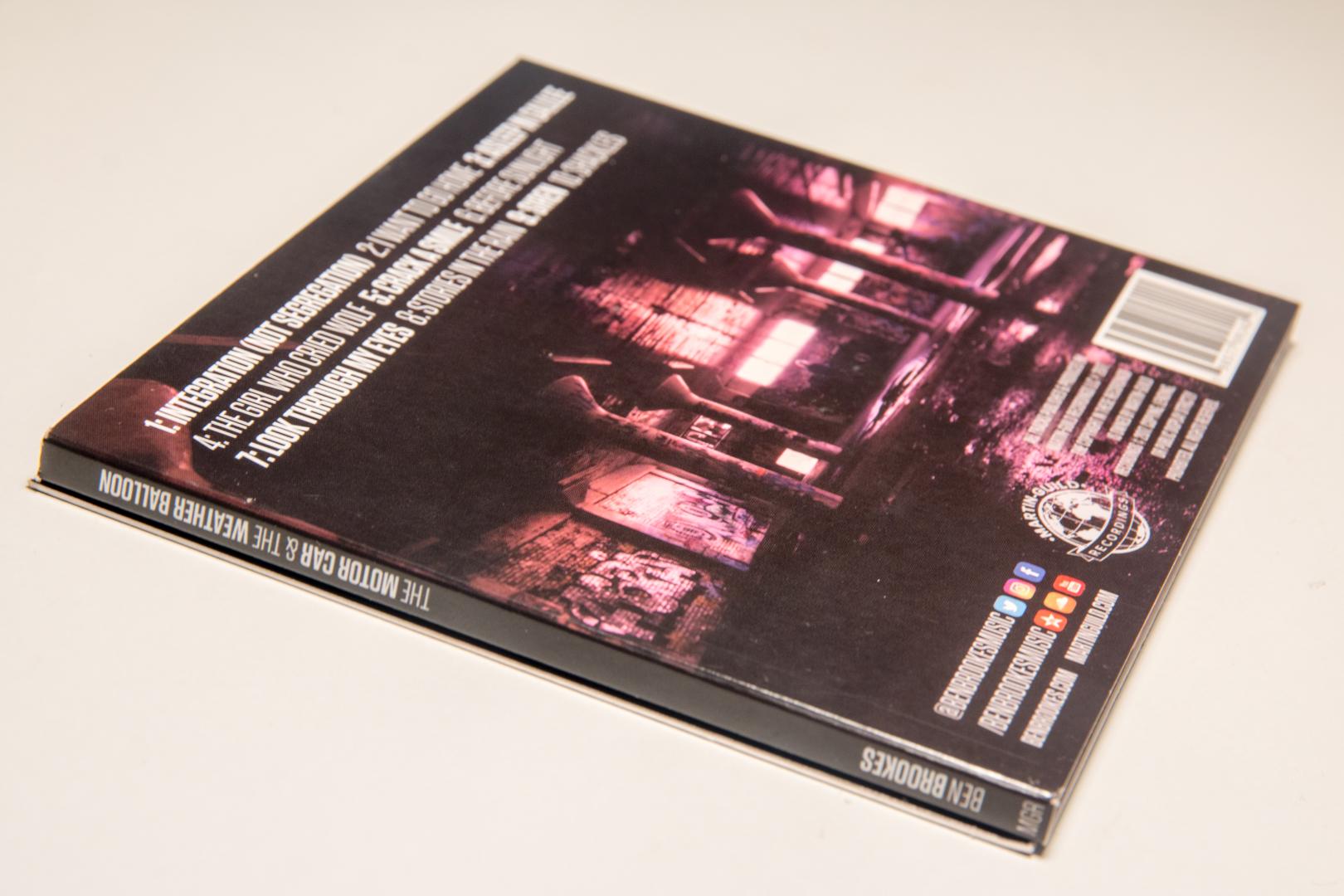 Ben Brookes The Motor Car & The Weather Balloon CD -3.jpg