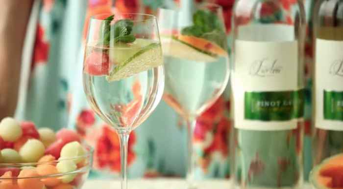 Pinot Grigio Melon Ball Spritzer (and more!) - Abbey Sharp,RDAbbey's Kitchen
