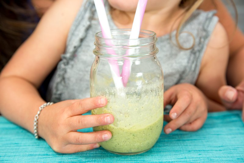 Kid-Approved Tropical Green Smoothie - Sarah Remmer, RD