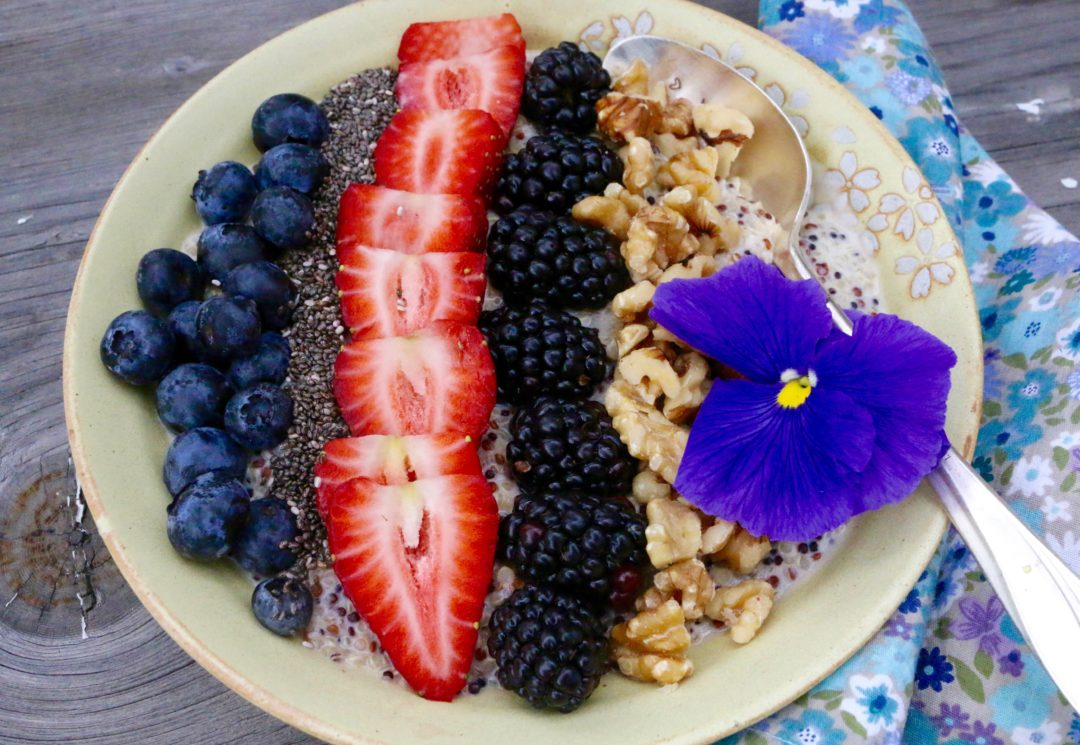 Berry Quinoa Power Bowl - Sharon Palmer, RD of The Plant-Powered Dietitian
