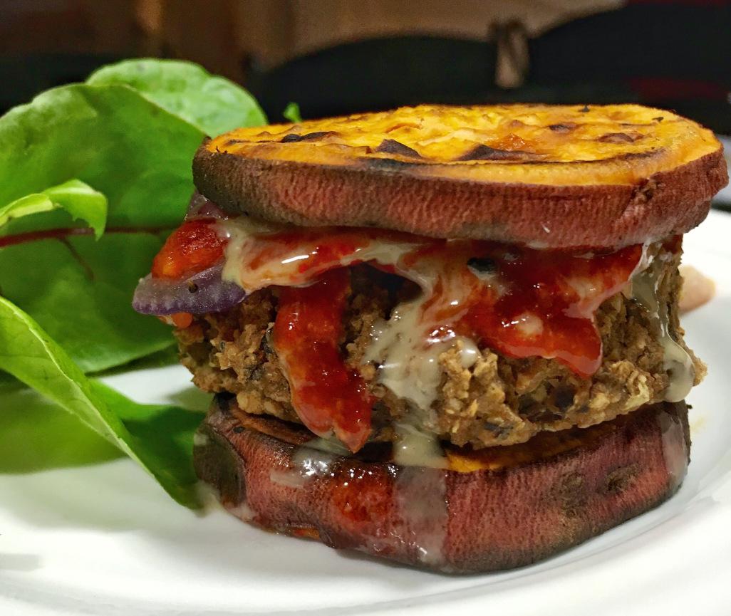 Bean Burger Sliders - Kelly Jones, MS, RD, CSSD of Eat Real Live Well