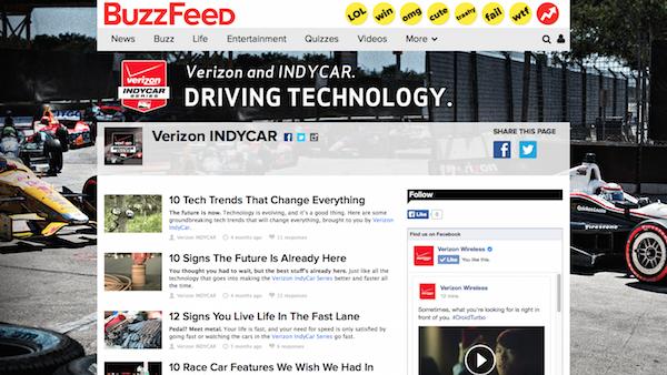 BuzzFeed Integration