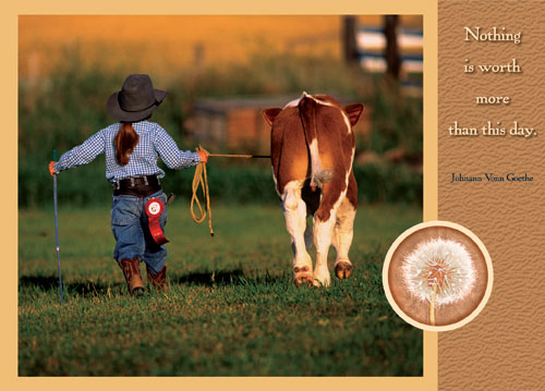 Cowgirl and her Cow.jpg