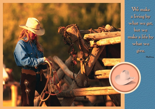 Cowgirl and Tack copy.jpg