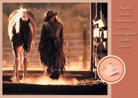 Cowgril Walking Her Horse.jpg
