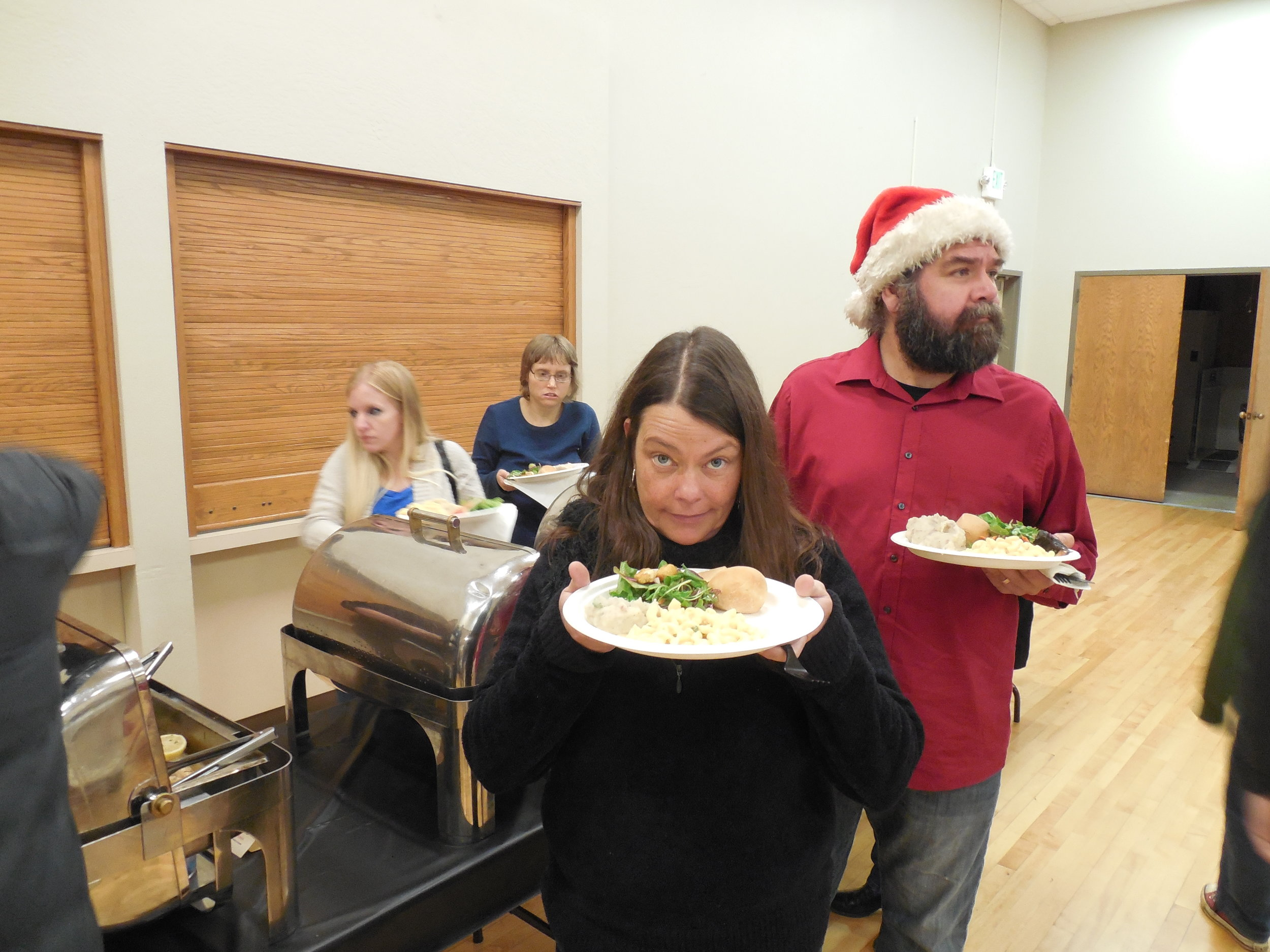 Christmas Party-Chris M and Shannon Food.JPG