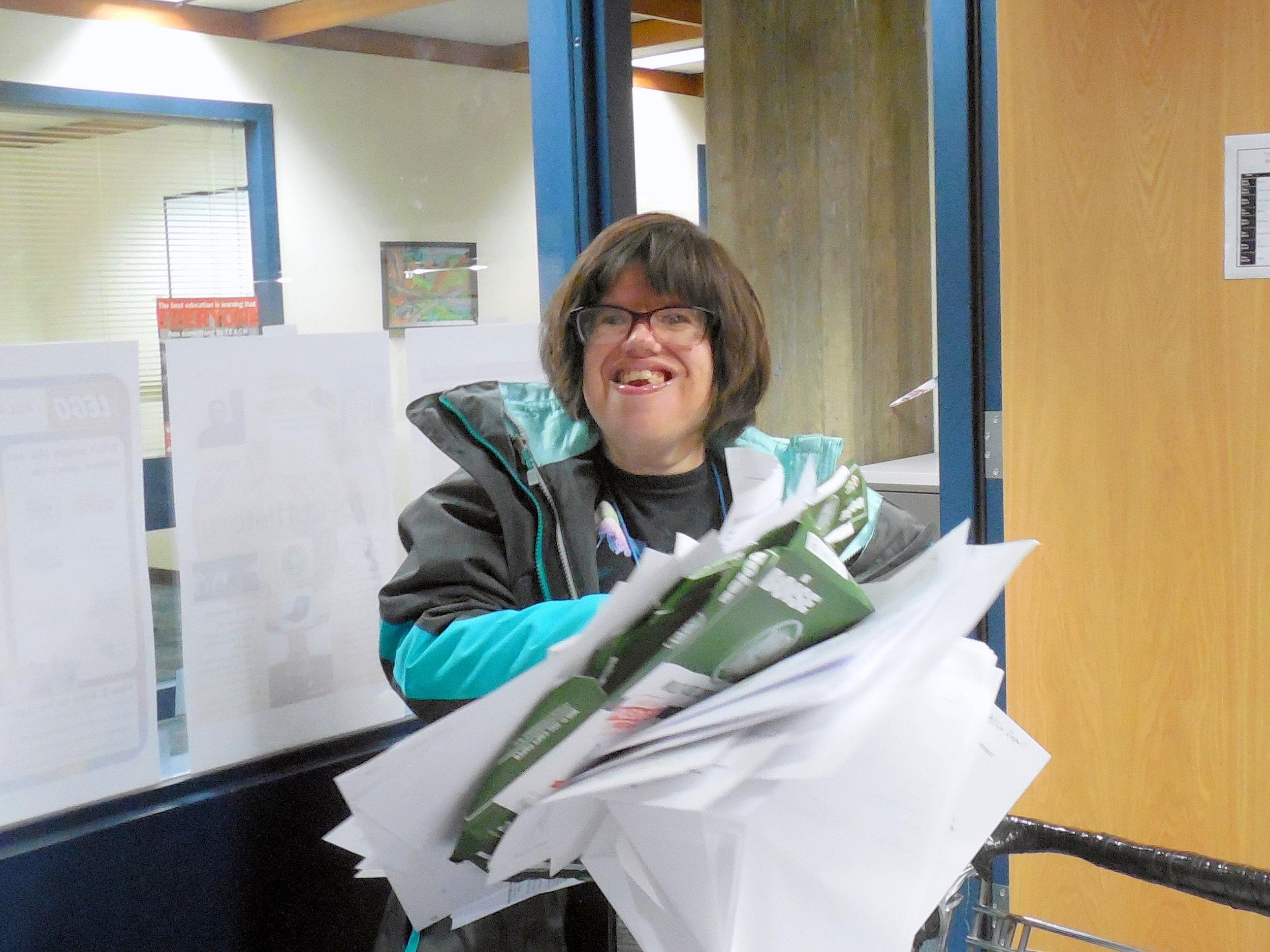12 Courthouse-Kristi picking up shredding.jpg