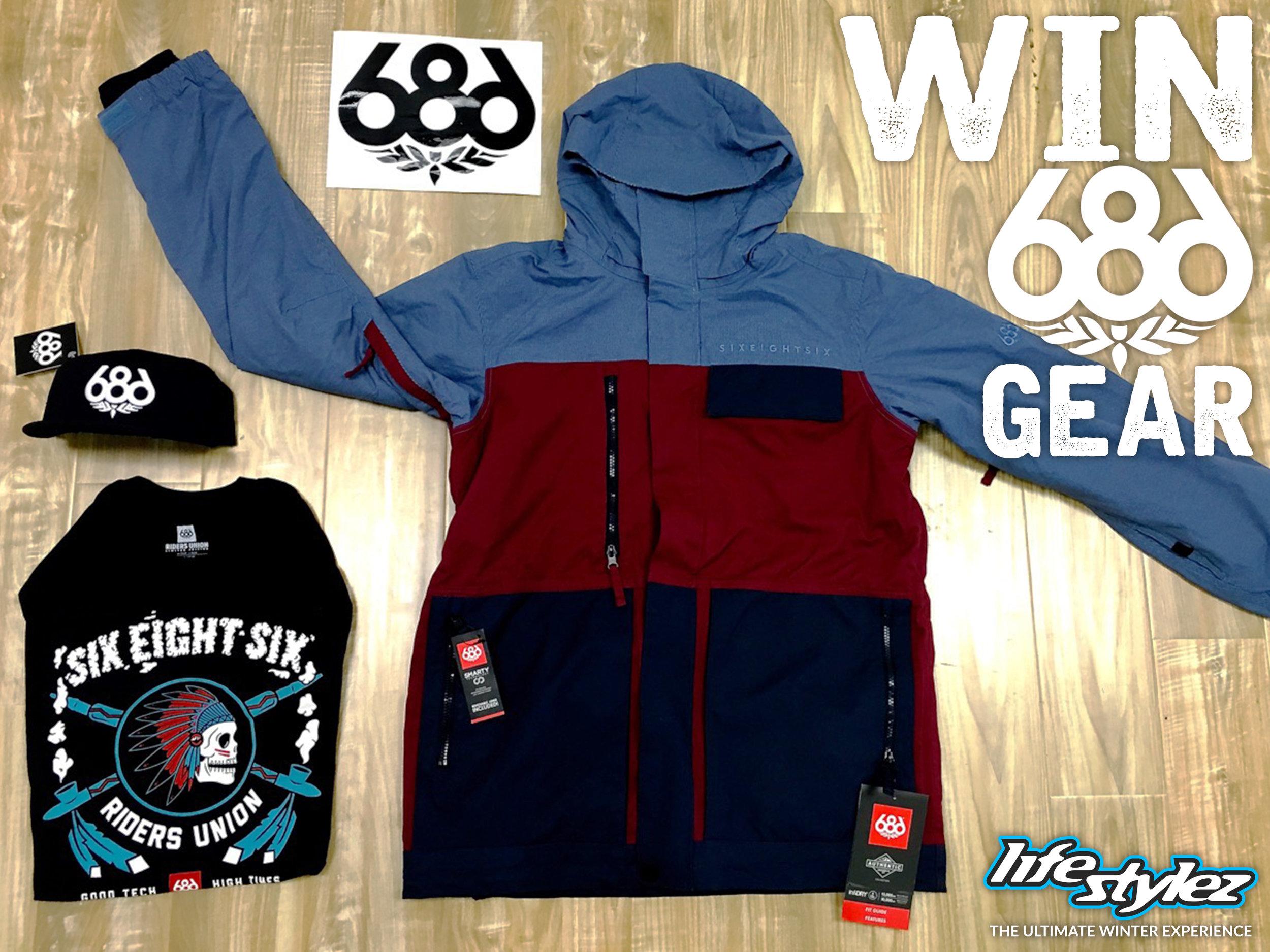 686 Facebook sponsor swag giveaway