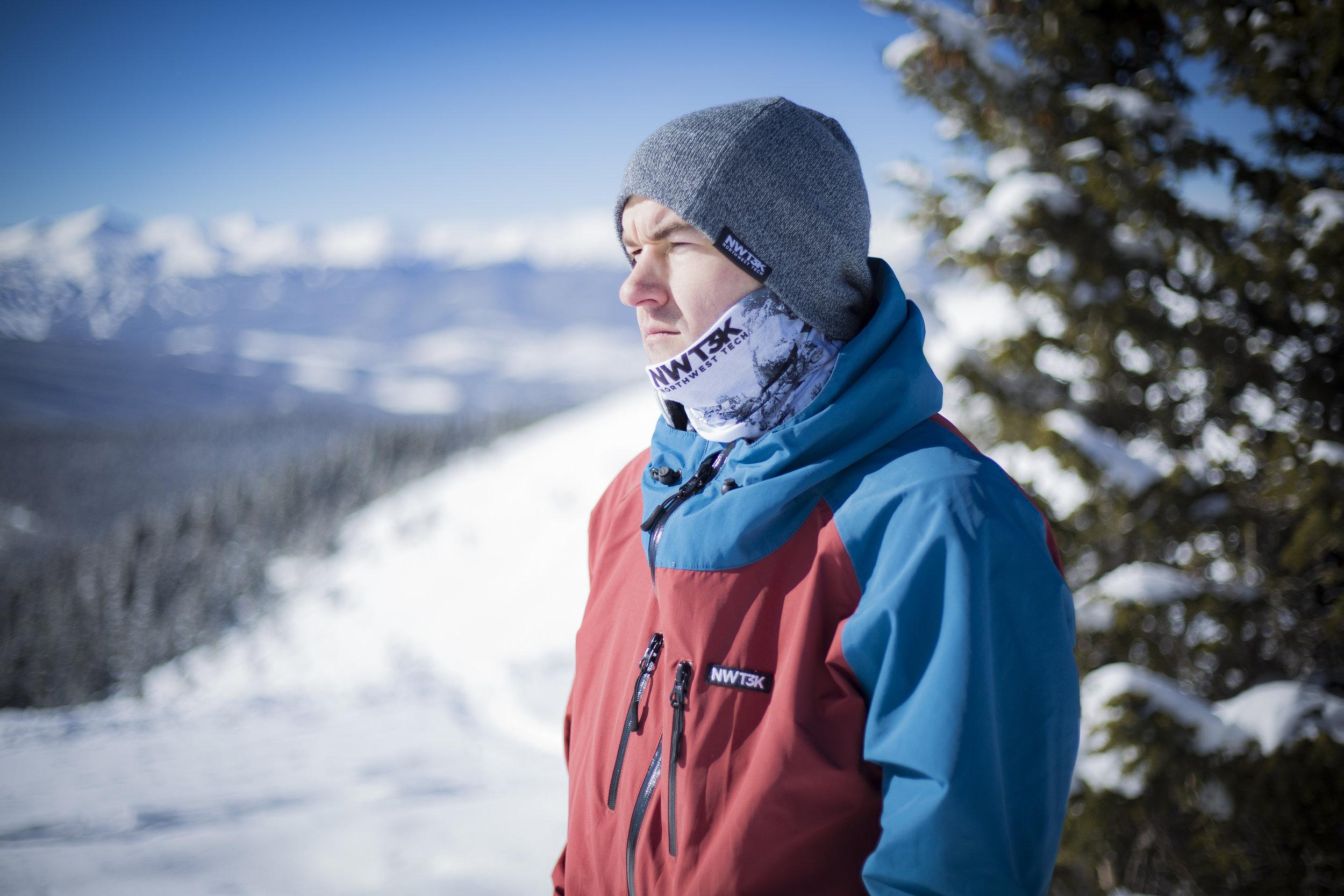 NWT3K Sponsor representation on the slopes in Keystone, Colorado.