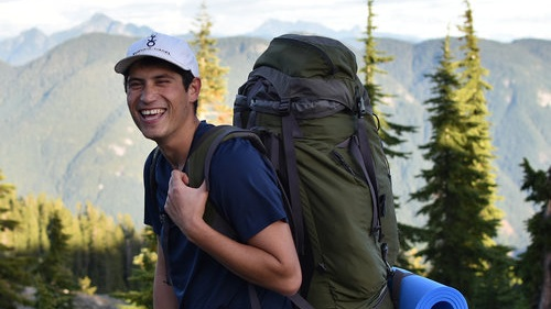 Cole TeWhiu  (   WFR   )   spends his summers leading expeditions into the wilds of BC, and his winters as a ski patroller at Mount Seymour. When not instructing or guiding, Cole can be found snowboarding, canoeing, hiking or just hanging out with his dog.