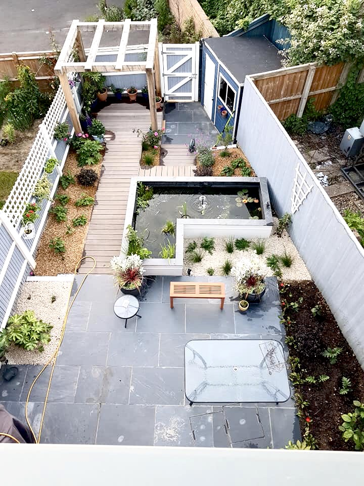 Town House Garden.. small plants, patience required!