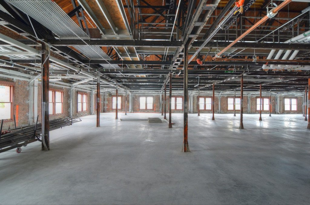 Third floor of King Street Station  |  Image by  SDOT  via  Art Beat Blog
