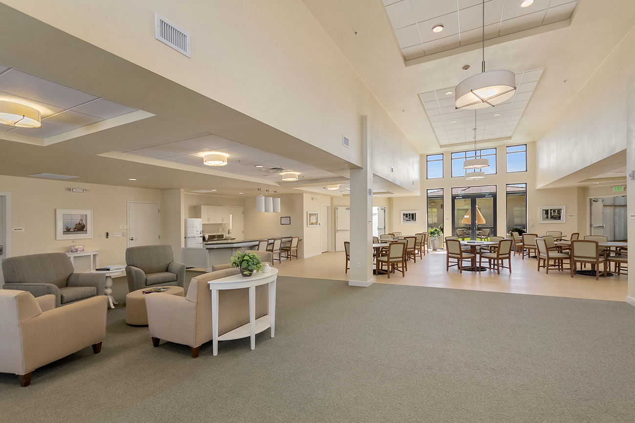 Memory Care Dining / Living Area