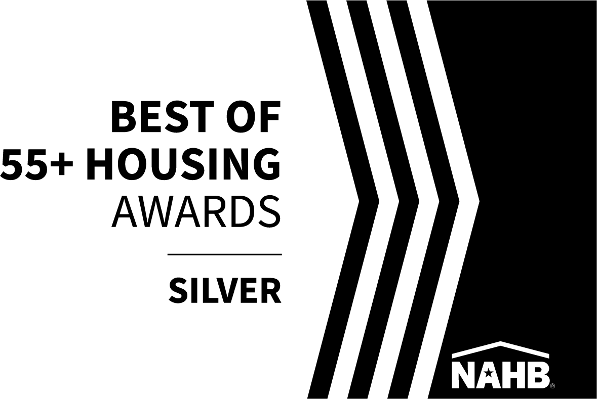 2018 Best of 55+ Housing Awards Silver