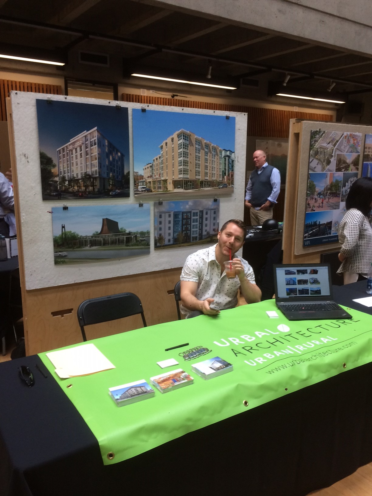 Project manager Russell University of Washington College of Built Environments 2018 Career Fair.