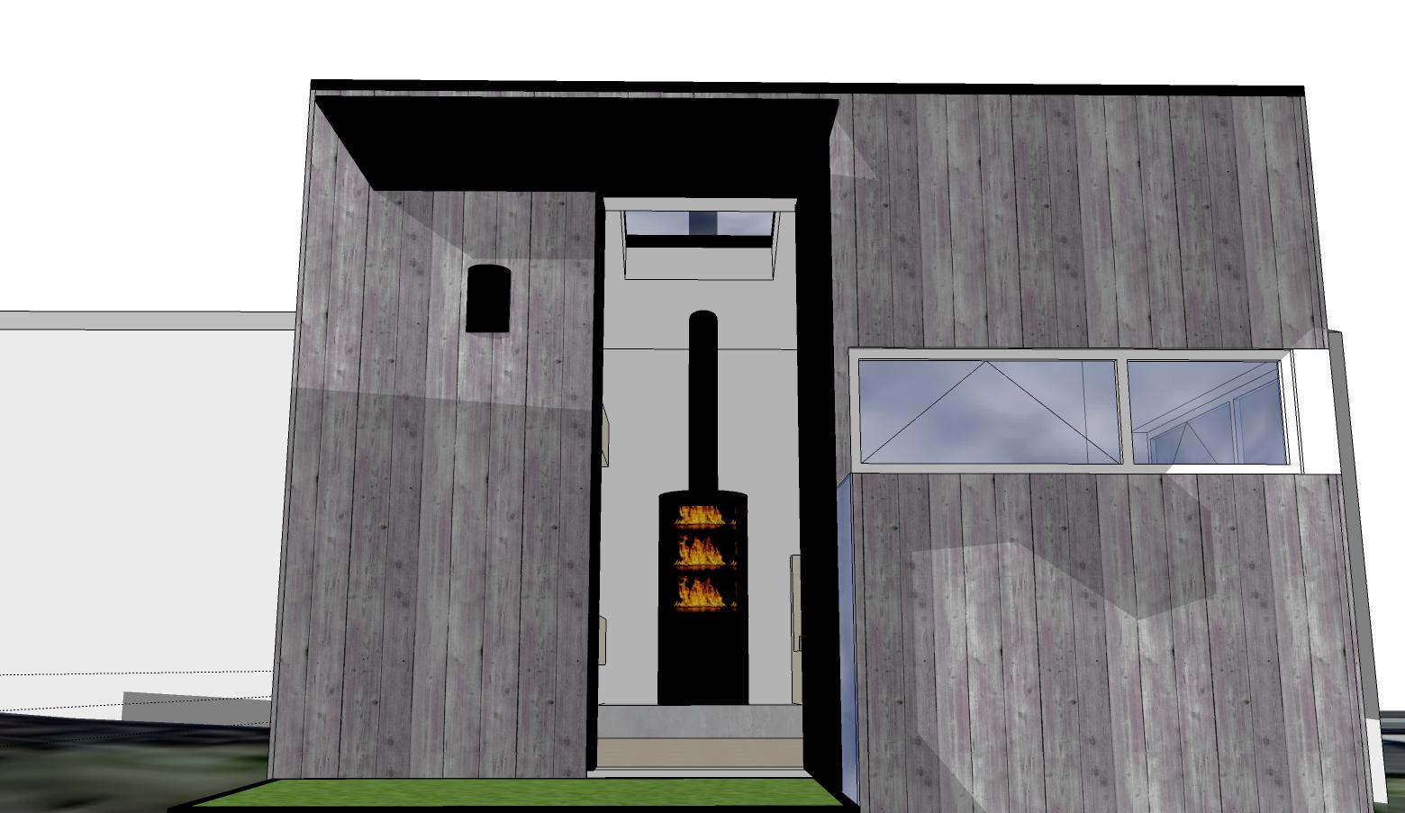 lorentz bunkhouse view through front door.jpg