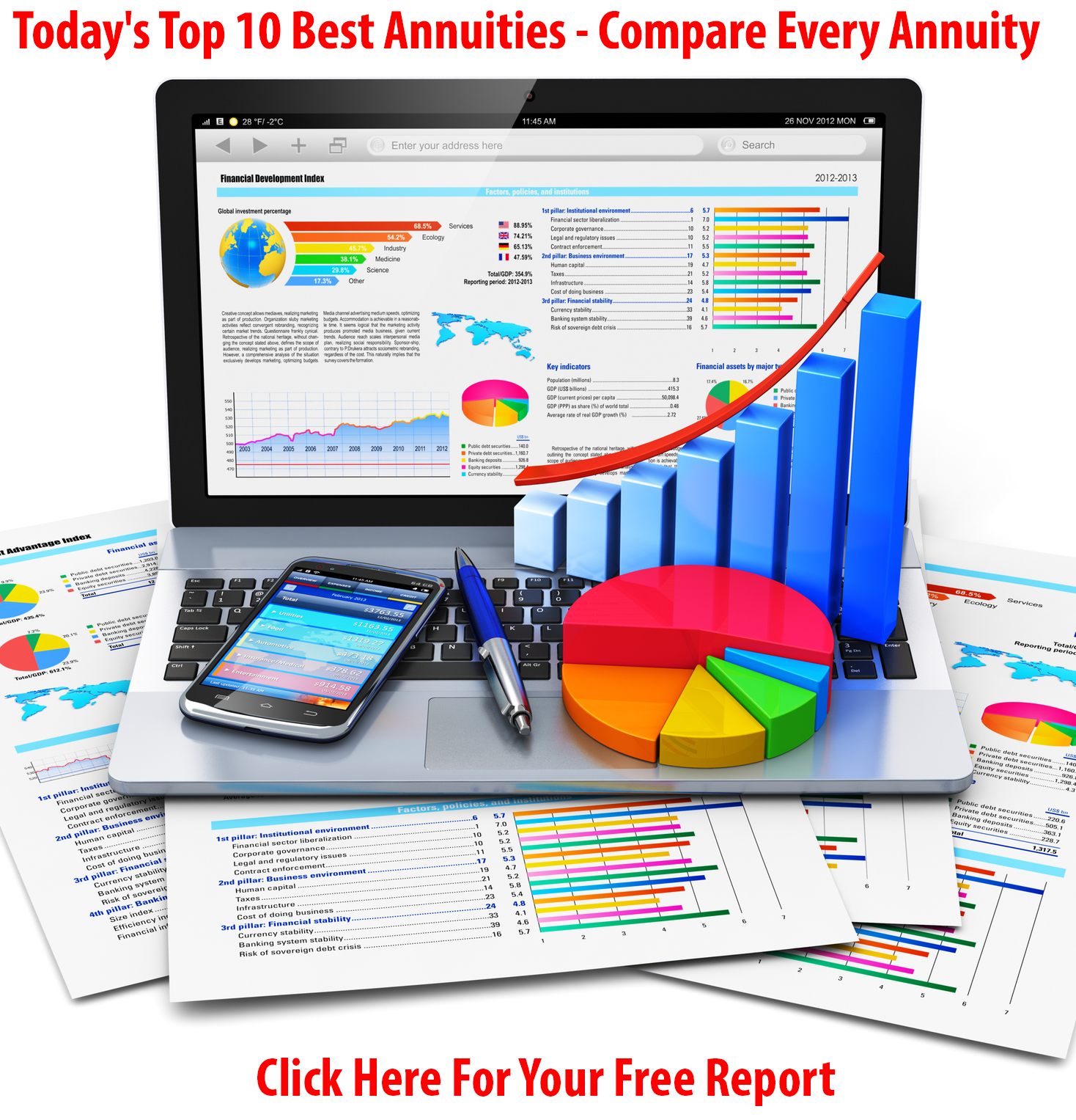 2017's Best Annuities And Highest Rates All Included In Your Free Report
