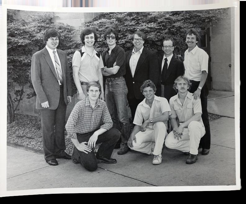 InSong  album composers: Front row, L to R: Mark Rumpza, Ron Noecker, Daniel Kantor; Back row, L to R: Mike Joncas, David Haas, Paul Rysavy, Jay McHale, Dr. James Callahan, Rob Strusinski
