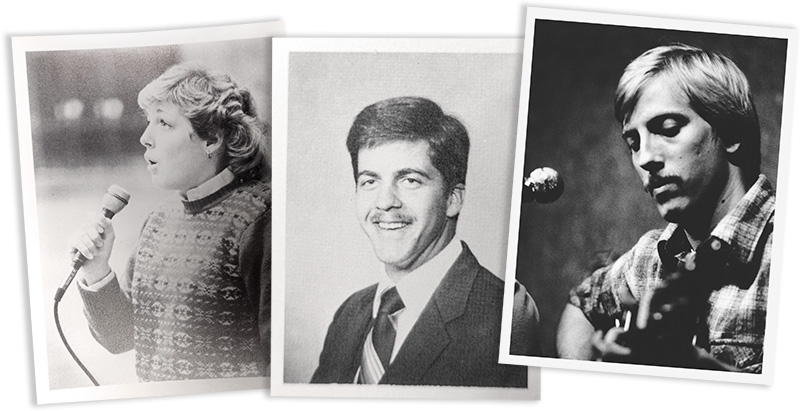L to R: Joanne Wagner Pauley, Dan Swason, John Siewert
