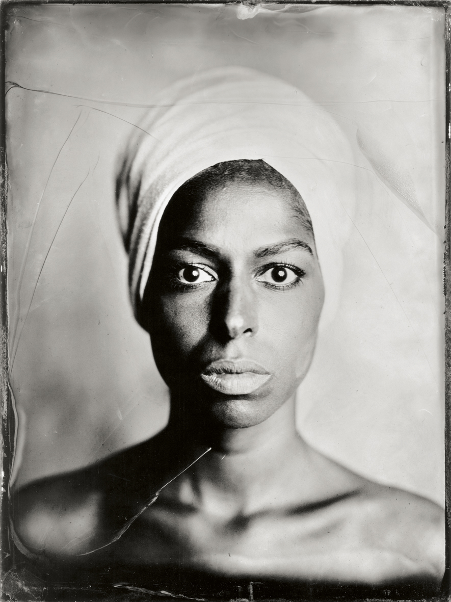 DANIEL SAMANNS wet-collodium portraits showing in the PHOTOSCOPE from October 13, 2017