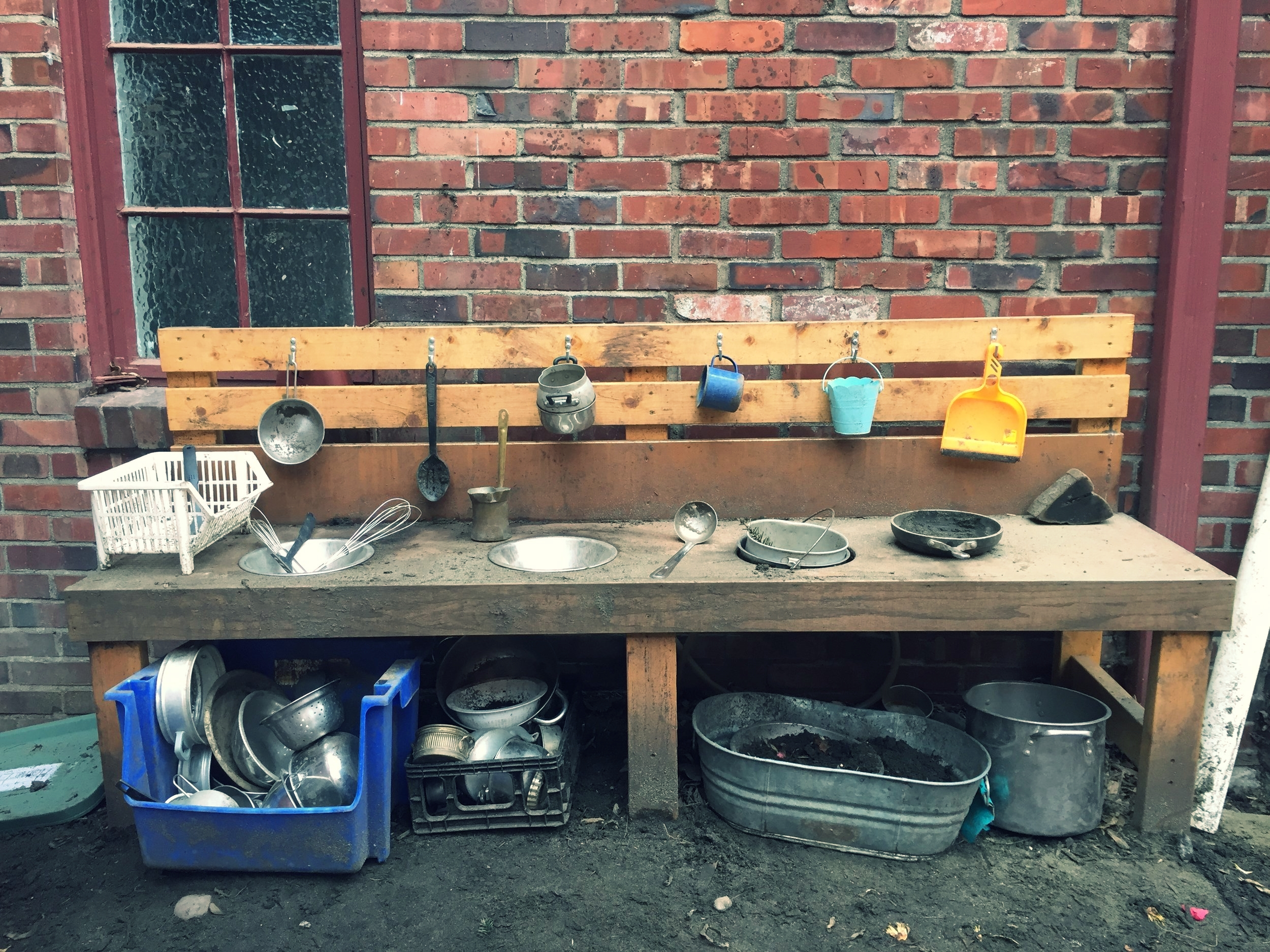 Play Yard Mud Kitchen