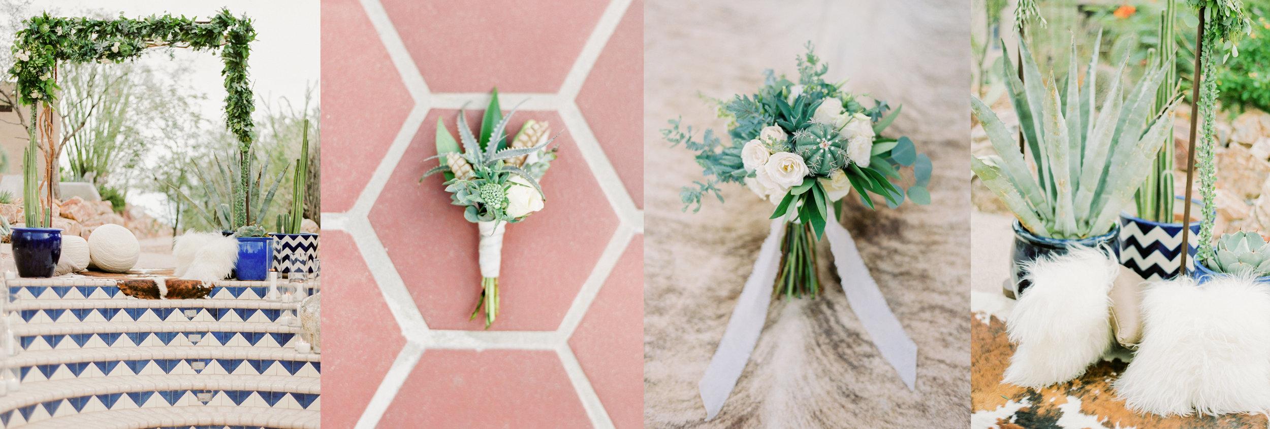 Tucson wedding floral
