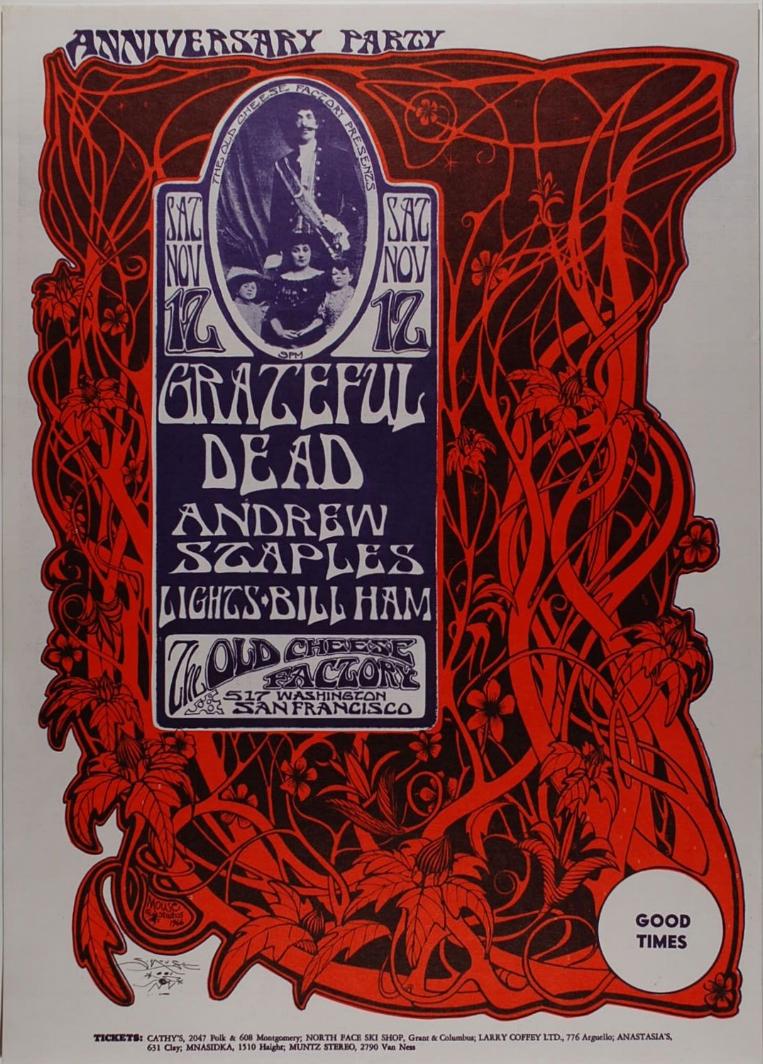 Grateful Dead Anniversary