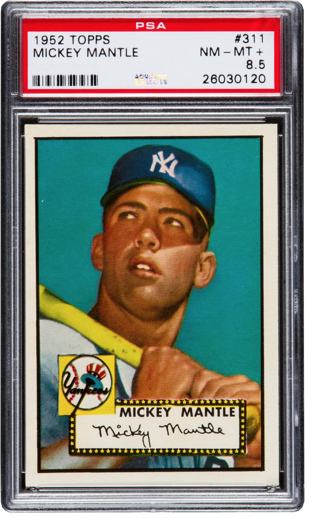 World Record Mickey Mantle Baseball Card