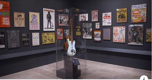 Dozens of vintage concert posters are now on display The Metropolitan Museum of Art in New City.