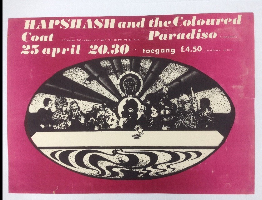 Hapsash and the Coloured Coat at the Paradiso April, 25, 1968